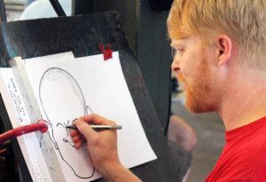 karykaturzysta karykatury i karykaturzyści karykatura na zamówienie