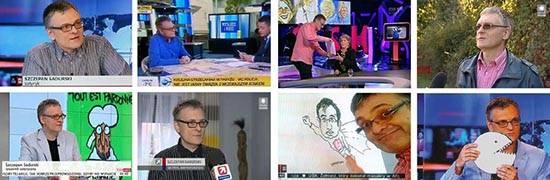 Szczepan Sadurski satyryk karykaturzysta telewizja