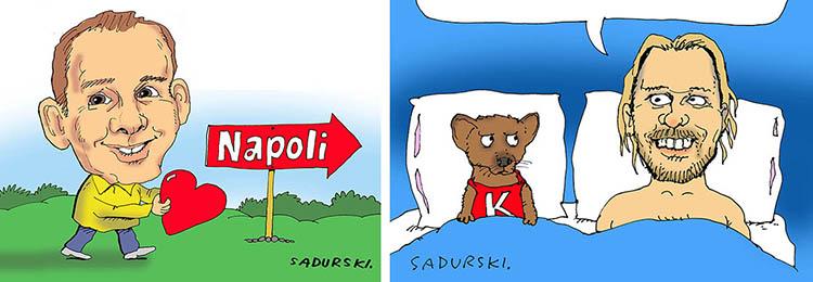 karykatura komiksowa