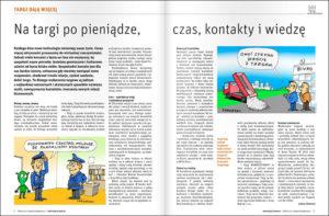 targi Poznań rysunki karykatury