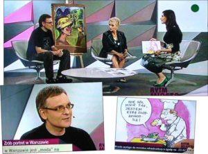karykaturzysta warszawski karykatury w Warszawie