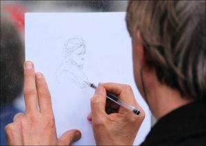 tania karykatura karykaturzysta amator