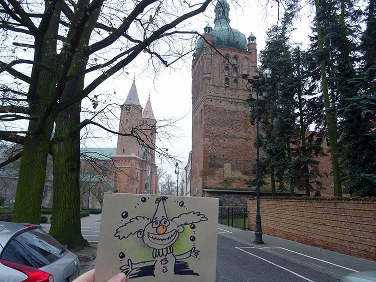 karykaturzysta Płock karykatury Płock