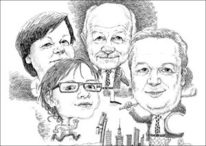 karykatura ze zdjęcia karykatury na prezent karykaturzysta