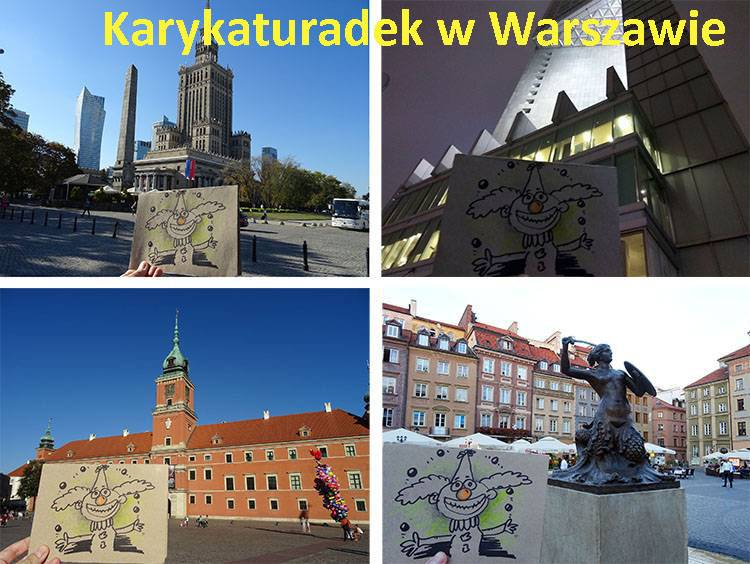 karykatury Warszawa karykaturzysta Warszawa