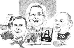 karykatury ze zdjęć karykatura na prezent