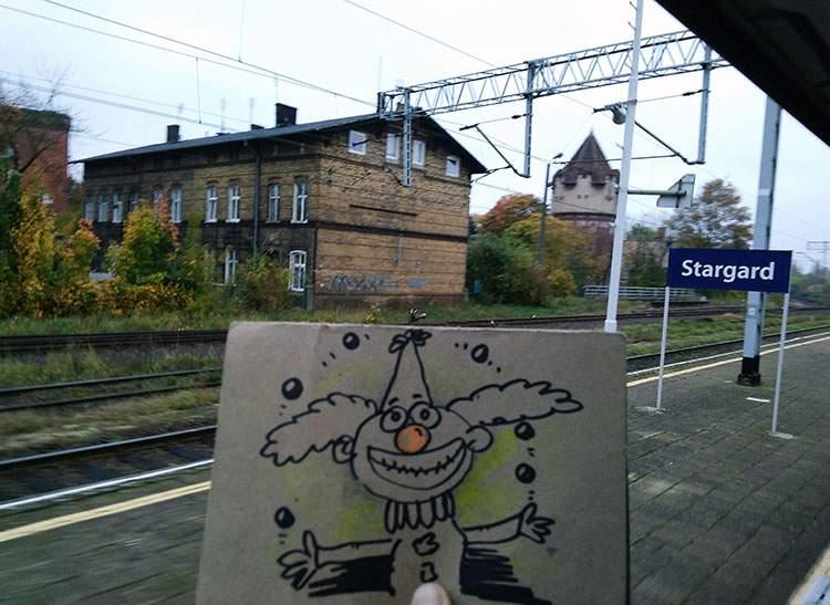 Stargard Szczeciński  karykaturzysta karykatury