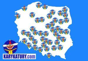 karykaturadek podróże karykatury Polska karykaturzysta