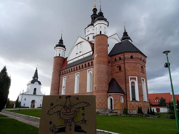 Supraśl karykaturzysta Białystok podlaskie karykatury