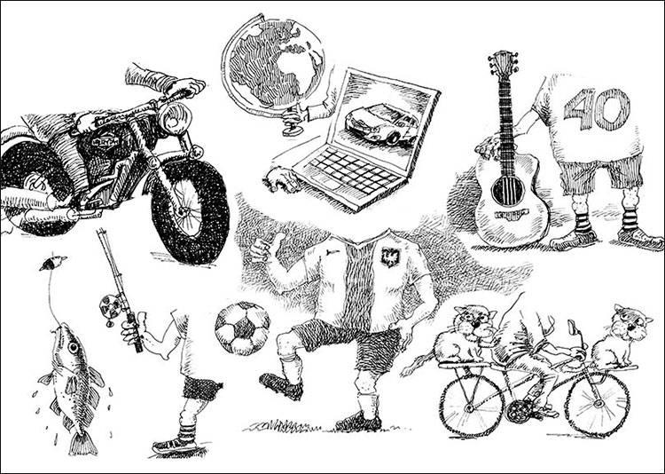 karykatura symbole karyktury