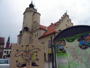 Prusice karykaturzysta hotel riviera karykatury