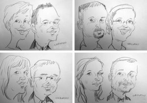 karykatury na żywo wesele karykaturzysta karykatura