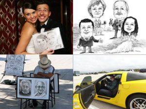karykaturzysta karykatury karykatura wesele atrakcje