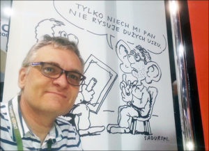 karykaturzysta karykatury karykatura atrakcje na event impreza firmowa