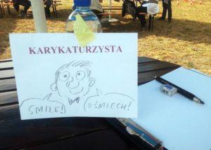 piknik atrakcje karykaturzysta karykatury
