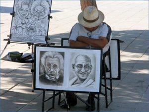 karykaturzysta uliczny karykatury ciekawostki karykatura