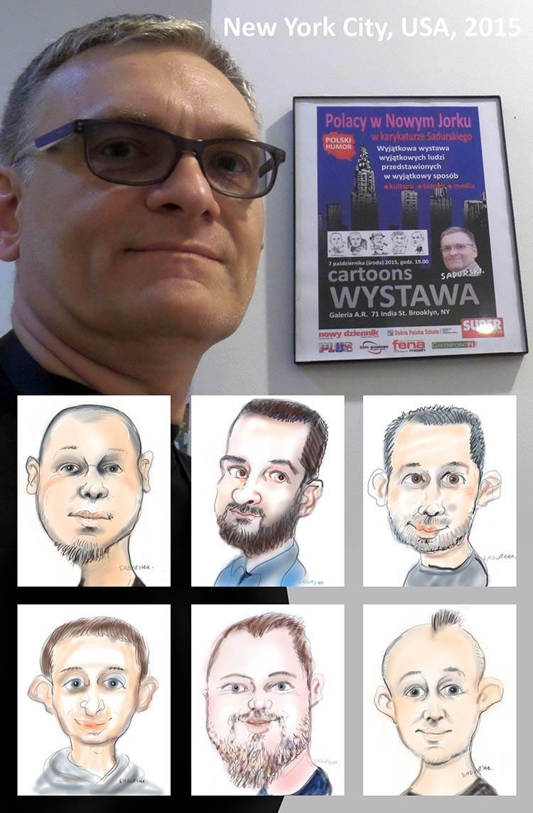 karykatury na tablecie karykatury na tabletach