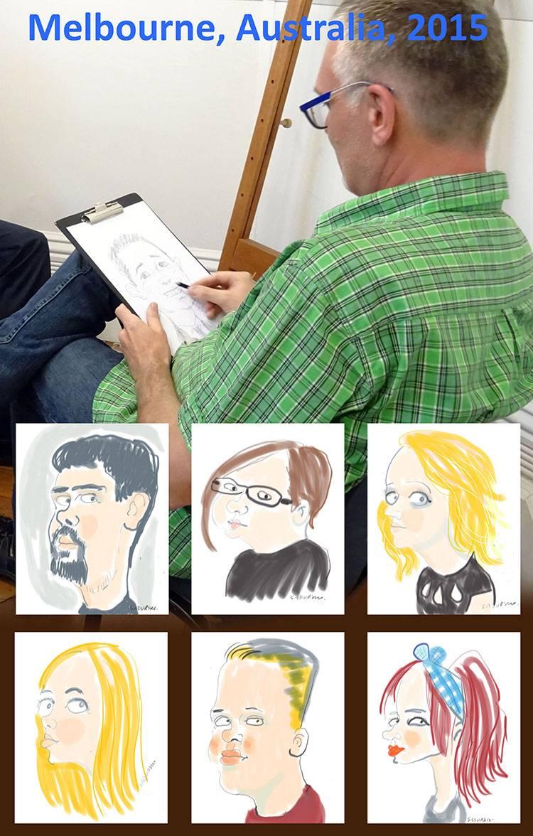 karykatury na tabletach karykatury na tablecie na żywo