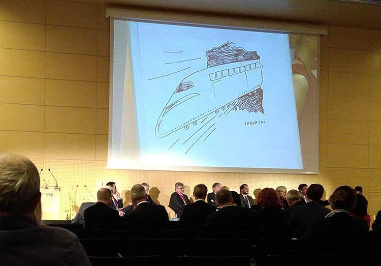 sketchnotes konferencje rysunki na żywo rysownik Warszawa