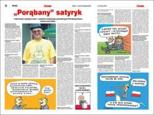 Szczepan Sadurski wywiad Trybuna karykaturzysta rysownik prasowy