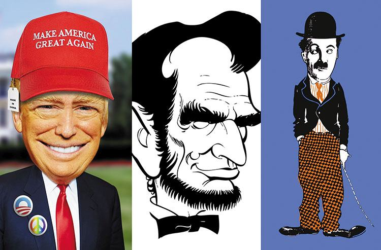 karykatury znanych osób karykaturzysta karykatura