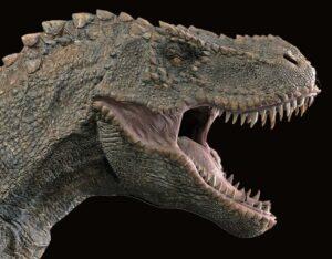 dinozaur wielki karykatura rozmiar karykatury